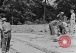 Image of hammering rock slabs Tennessee United States USA, 1940, second 11 stock footage video 65675050026