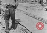 Image of hammering rock slabs Tennessee United States USA, 1940, second 12 stock footage video 65675050026