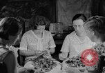 Image of women in kitchen Kentucky United States USA, 1940, second 1 stock footage video 65675050030