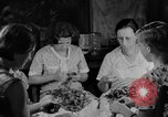 Image of women in kitchen Kentucky United States USA, 1940, second 3 stock footage video 65675050030