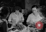 Image of women in kitchen Kentucky United States USA, 1940, second 4 stock footage video 65675050030