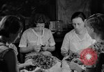 Image of women in kitchen Kentucky United States USA, 1940, second 5 stock footage video 65675050030