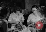 Image of women in kitchen Kentucky United States USA, 1940, second 7 stock footage video 65675050030