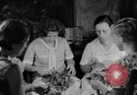 Image of women in kitchen Kentucky United States USA, 1940, second 9 stock footage video 65675050030