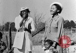 Image of Negro women Calhoun Alabama USA, 1940, second 8 stock footage video 65675050036