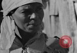Image of Negro woman in rural Alabama Calhoun Alabama USA, 1940, second 8 stock footage video 65675050040