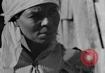 Image of Negro woman in rural Alabama Calhoun Alabama USA, 1940, second 11 stock footage video 65675050040