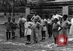 Image of calisthenics Calhoun Alabama USA, 1940, second 7 stock footage video 65675050047