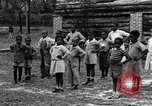 Image of calisthenics Calhoun Alabama USA, 1940, second 8 stock footage video 65675050047