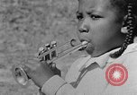 Image of Negro children's band Calhoun Alabama USA, 1940, second 8 stock footage video 65675050048