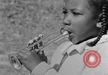 Image of Negro children's band Calhoun Alabama USA, 1940, second 10 stock footage video 65675050048
