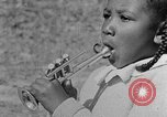 Image of Negro children's band Calhoun Alabama USA, 1940, second 11 stock footage video 65675050048