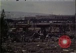 Image of bombed site Beirut Lebanon, 1983, second 8 stock footage video 65675050061