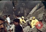 Image of bulldozers and cranes Beirut Lebanon, 1983, second 2 stock footage video 65675050075