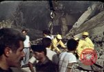 Image of bulldozers and cranes Beirut Lebanon, 1983, second 5 stock footage video 65675050075