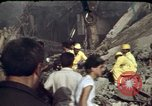 Image of bulldozers and cranes Beirut Lebanon, 1983, second 7 stock footage video 65675050075