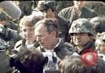 Image of George H W Bush Beirut Lebanon, 1983, second 9 stock footage video 65675050089