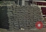 Image of sandbagged outpost Beirut Lebanon, 1983, second 3 stock footage video 65675050093