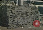 Image of sandbagged outpost Beirut Lebanon, 1983, second 4 stock footage video 65675050093