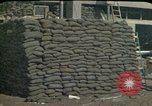 Image of sandbagged outpost Beirut Lebanon, 1983, second 5 stock footage video 65675050093