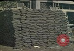 Image of sandbagged outpost Beirut Lebanon, 1983, second 6 stock footage video 65675050093