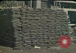 Image of sandbagged outpost Beirut Lebanon, 1983, second 8 stock footage video 65675050093