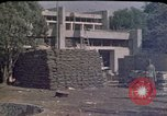 Image of sandbagged outpost Beirut Lebanon, 1983, second 12 stock footage video 65675050093
