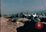 Image of sandbagged bunkers Beirut Lebanon, 1983, second 2 stock footage video 65675050100