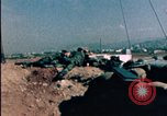 Image of sandbagged bunkers Beirut Lebanon, 1983, second 5 stock footage video 65675050100