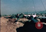 Image of sandbagged bunkers Beirut Lebanon, 1983, second 6 stock footage video 65675050100