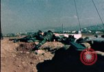 Image of sandbagged bunkers Beirut Lebanon, 1983, second 7 stock footage video 65675050100