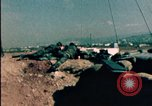 Image of sandbagged bunkers Beirut Lebanon, 1983, second 9 stock footage video 65675050100