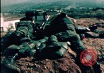 Image of sandbagged bunkers Beirut Lebanon, 1983, second 10 stock footage video 65675050100