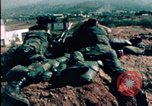 Image of sandbagged bunkers Beirut Lebanon, 1983, second 11 stock footage video 65675050100