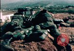 Image of sandbagged bunkers Beirut Lebanon, 1983, second 12 stock footage video 65675050100