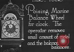 Image of clock parts Detroit Michigan USA, 1920, second 2 stock footage video 65675050149