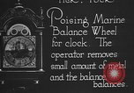 Image of clock parts Detroit Michigan USA, 1920, second 3 stock footage video 65675050149