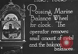 Image of clock parts Detroit Michigan USA, 1920, second 4 stock footage video 65675050149