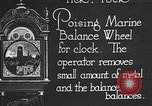 Image of clock parts Detroit Michigan USA, 1920, second 5 stock footage video 65675050149