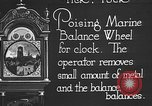 Image of clock parts Detroit Michigan USA, 1920, second 7 stock footage video 65675050149