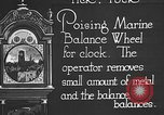 Image of clock parts Detroit Michigan USA, 1920, second 9 stock footage video 65675050149