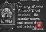 Image of clock parts Detroit Michigan USA, 1920, second 10 stock footage video 65675050149