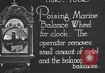 Image of clock parts Detroit Michigan USA, 1920, second 12 stock footage video 65675050149