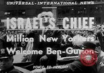Image of David Ben Gurion New York United States USA, 1951, second 5 stock footage video 65675050153