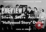 Image of The Hollywood Story Hollywood Los Angeles California USA, 1951, second 5 stock footage video 65675050155