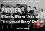 Image of The Hollywood Story Hollywood Los Angeles California USA, 1951, second 6 stock footage video 65675050155