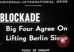 Image of Jessup-Malik Agreement ends Berlin Blockade New York United States USA, 1949, second 2 stock footage video 65675050156