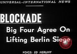 Image of Jessup-Malik Agreement ends Berlin Blockade New York United States USA, 1949, second 4 stock footage video 65675050156