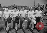 Image of calisthenics New Jersey United States USA, 1949, second 12 stock footage video 65675050161