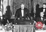 Image of President Franklin D. Roosevelt Washington DC USA, 1937, second 1 stock footage video 65675050167